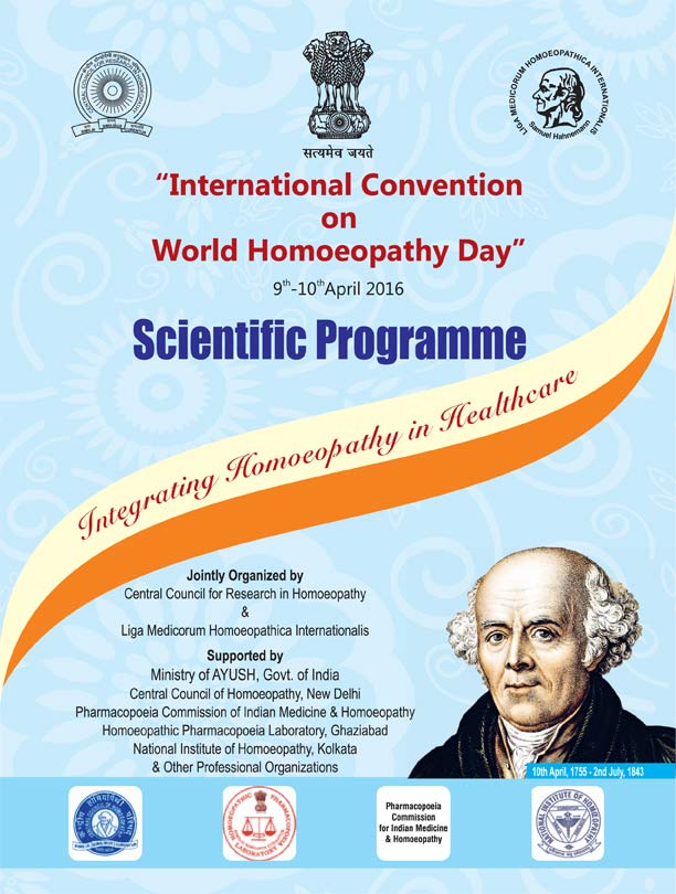World Homeopathy Day, Delhi, April 2016