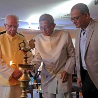 The event is inaugurated by lighting the lamp