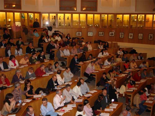 Classical Homeopaths Attending A Conference At Spain